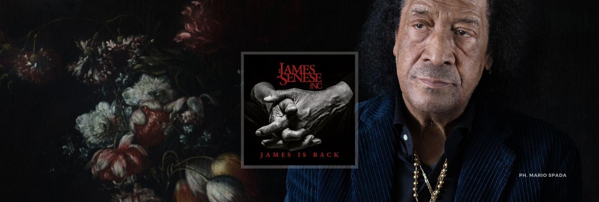 """""""James is back"""", il nuovo album di James Senese JNC"""